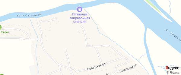 Набережная улица на карте села Маково с номерами домов