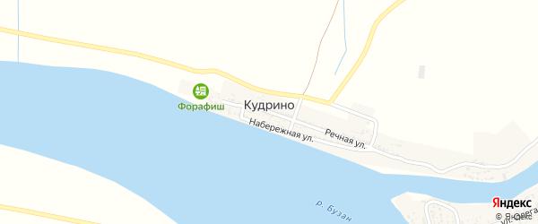 Речная улица на карте села Кудрино с номерами домов