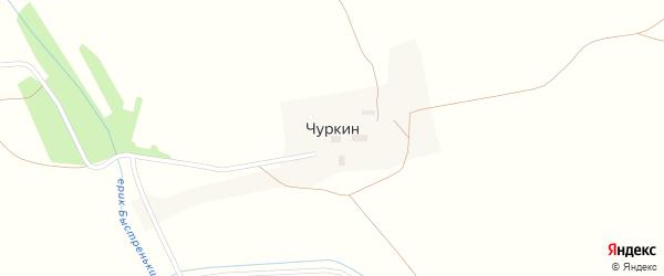 Береговая улица на карте поселка Чуркина с номерами домов