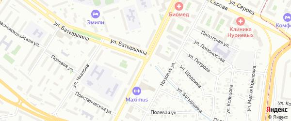 Улица Галимджана Баруди на карте Казани с номерами домов