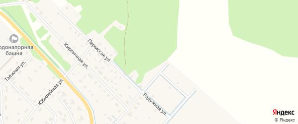 Улица Владимира Чукичева на карте села Яренска с номерами домов