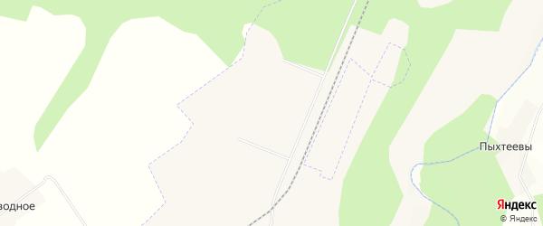 Карта Северного поселка в Кировской области с улицами и номерами домов