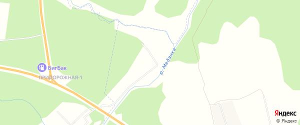 Карта территории сдт Урожай-2 (Подгорцы) в Кировской области с улицами и номерами домов