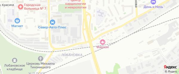 Улица Ивана Попова на карте Кирова с номерами домов