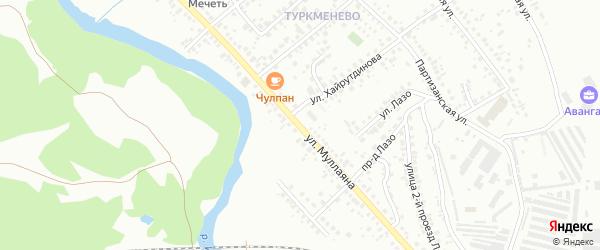 Улица Муллаяна на карте Октябрьского с номерами домов