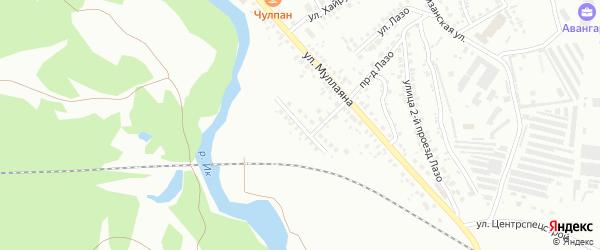 Кожзаводская улица на карте Октябрьского с номерами домов