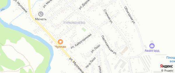 Улица Хайрутдинова на карте Октябрьского с номерами домов