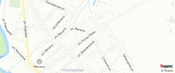 Улица Кызыл Маяк на карте Октябрьского с номерами домов