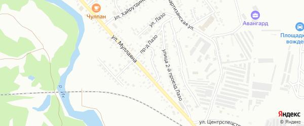 Проезд С.Лазо на карте Октябрьского с номерами домов