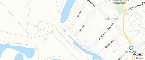 ГСК 45 А на карте Октябрьского с номерами домов