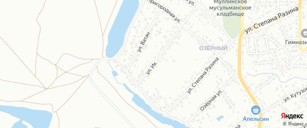 Улица Ик на карте Октябрьского с номерами домов