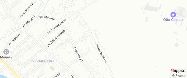 Объездная улица на карте Октябрьского с номерами домов
