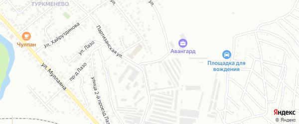 Степной проезд на карте Октябрьского с номерами домов