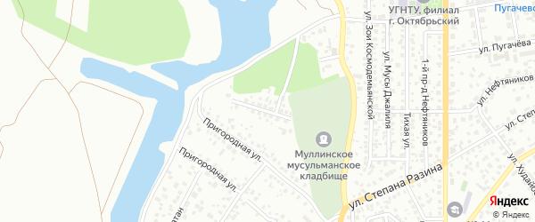 Черемуховая улица на карте Октябрьского с номерами домов