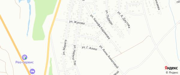 Улица Академика Тимерязева на карте Октябрьского с номерами домов