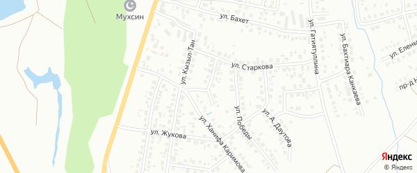 Улица Т.Арслана на карте Октябрьского с номерами домов