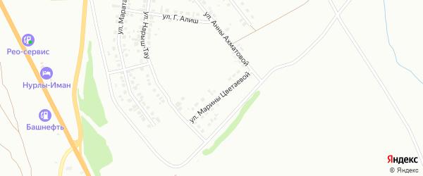 Улица Л.Гумилева на карте Октябрьского с номерами домов