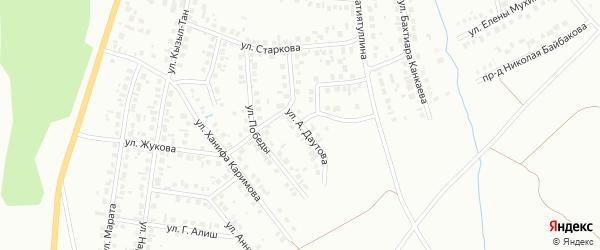 Улица А.Даутова на карте Октябрьского с номерами домов