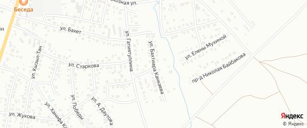 Улица Б.Канкаева на карте Октябрьского с номерами домов