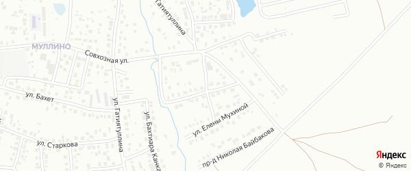 Улица Н.Байбакова на карте Октябрьского с номерами домов