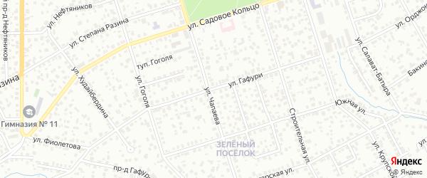 Улица Гафури на карте Октябрьского с номерами домов