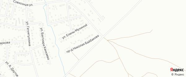 Проезд Н.Байбакова на карте Октябрьского с номерами домов