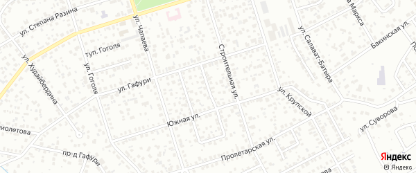 Р.Нигмати 2-й проезд на карте Октябрьского с номерами домов