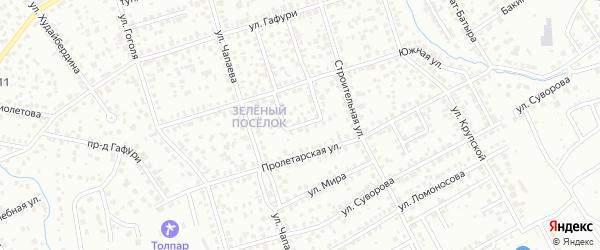 Южное кольцо на карте Октябрьского с номерами домов