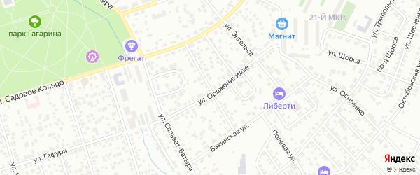Улица К.Галеева на карте Октябрьского с номерами домов