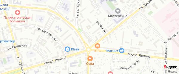 Проезд Кувыкина на карте Октябрьского с номерами домов