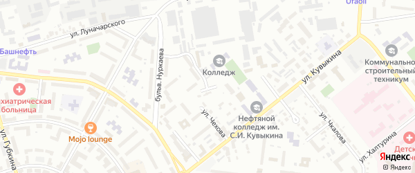 ГСК 46 на карте Октябрьского с номерами домов