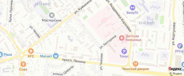 Улица Чкалова на карте Октябрьского с номерами домов