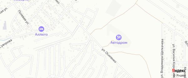 Улица Осипенко на карте Октябрьского с номерами домов