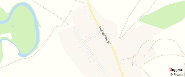 Улица Космонавтов на карте села Суюндюково с номерами домов