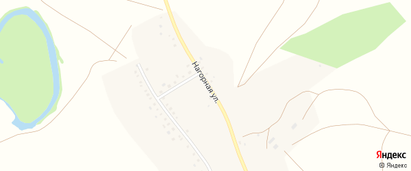 Нагорная улица на карте села Суюндюково с номерами домов