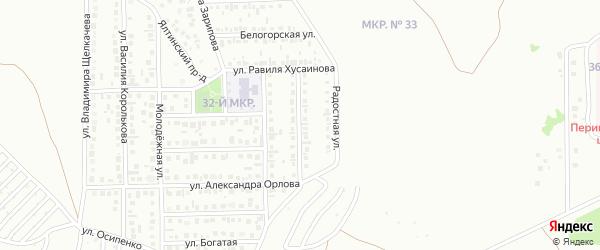 Симферопольская улица на карте Октябрьского с номерами домов