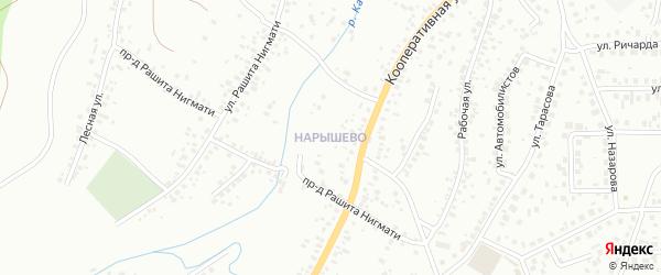 Квартал Нарышево на карте Октябрьского с номерами домов