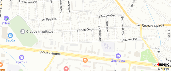 3-я улица на карте 37-й микрорайона с номерами домов