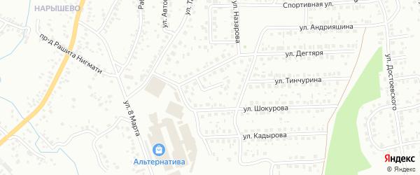 Тупик Назарова на карте Октябрьского с номерами домов