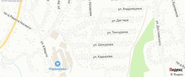 Улица Нифантова на карте Октябрьского с номерами домов