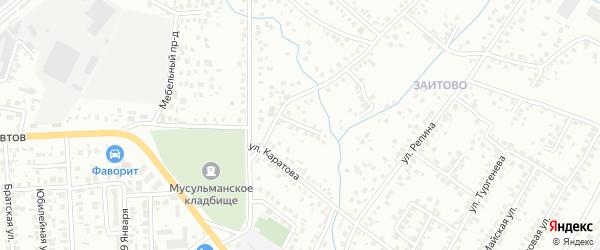 Вишневая улица на карте Октябрьского с номерами домов