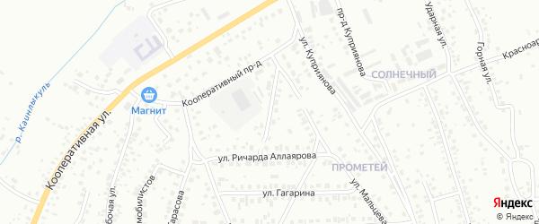 Улица П.Кадочникова на карте Октябрьского с номерами домов