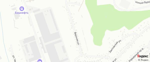 Верхняя улица на карте Октябрьского с номерами домов