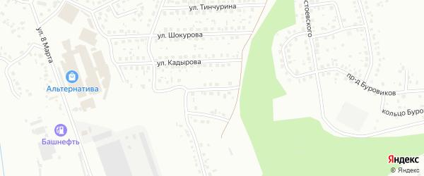 Проезд Мусы Гареева на карте Октябрьского с номерами домов