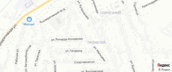 Улица Мальцева на карте Октябрьского с номерами домов