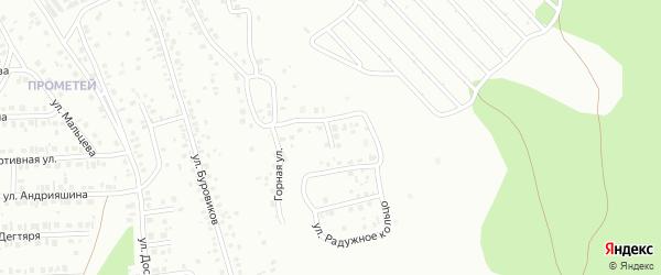 Радужная улица на карте Октябрьского с номерами домов