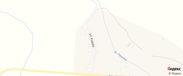 Улица Кидаш на карте села Усмана-Ташлы с номерами домов