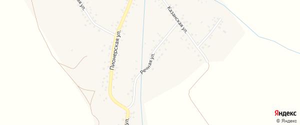 Речная улица на карте села Усмана-Ташлы с номерами домов