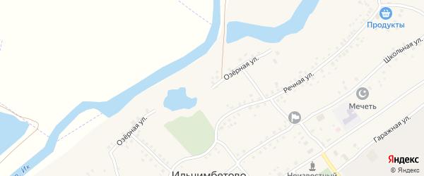 Озерная улица на карте села Ильчимбетово с номерами домов