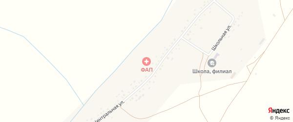 Центральная улица на карте села Старые Сулли с номерами домов